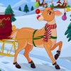 Stylish Santa Reindeer Dress-Up Game Online